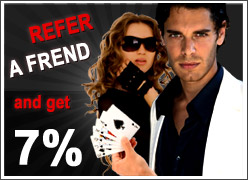 Offsidebet Poker - Refer a friend Bonus