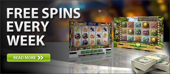 Offsidebet Casino - get FREE spins every week!