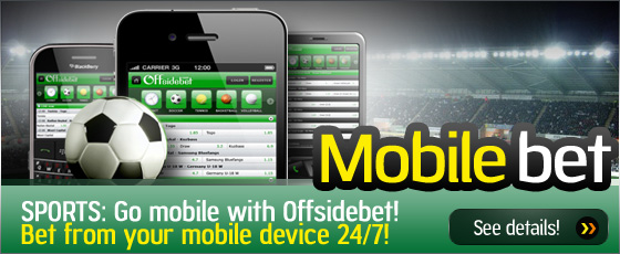 Offsidebet - Mobile betting
