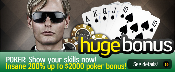 Offsidebet - $2000 Poker First Deposit Bonus