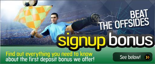 Signup Bonus